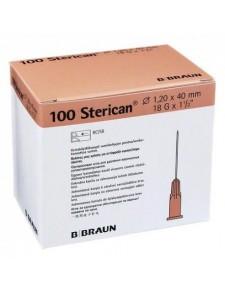 "Aguja  Sterican , 1,20 x 40 mm 18G x 1 1/2"""
