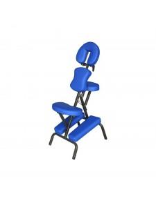 Silla de masaje multifuncional azul
