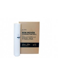 Rollo  papel camilla FISELINA. 60cm x 80 m.
