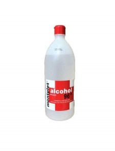 Alcohol 96º  Botella de 1 l.